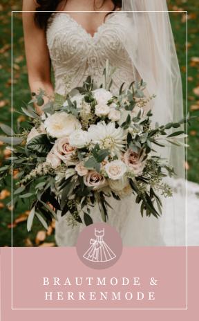 Brautmode & Herrenmode für die Hochzeit in Salzburg