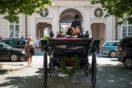 Kutschenfahrt fürs Brautpaar durch Salzburg
