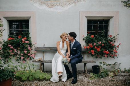 Brautpaar Susanne und Stephan