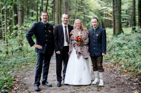 Brautpaar Roswitha & Georg