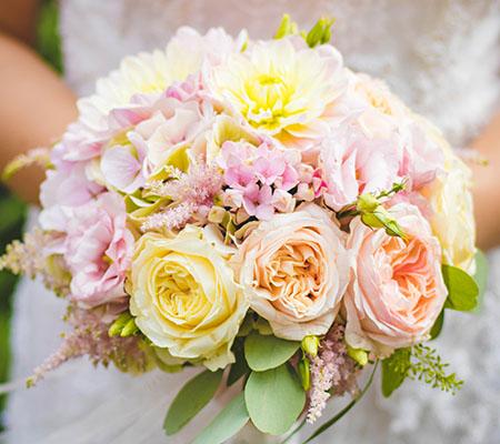 Stil eines Brautstrauß