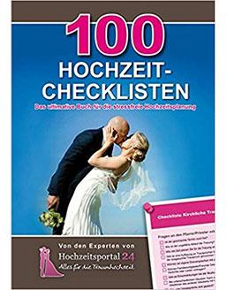 Buch: 100 Hochzeits-Checklisten