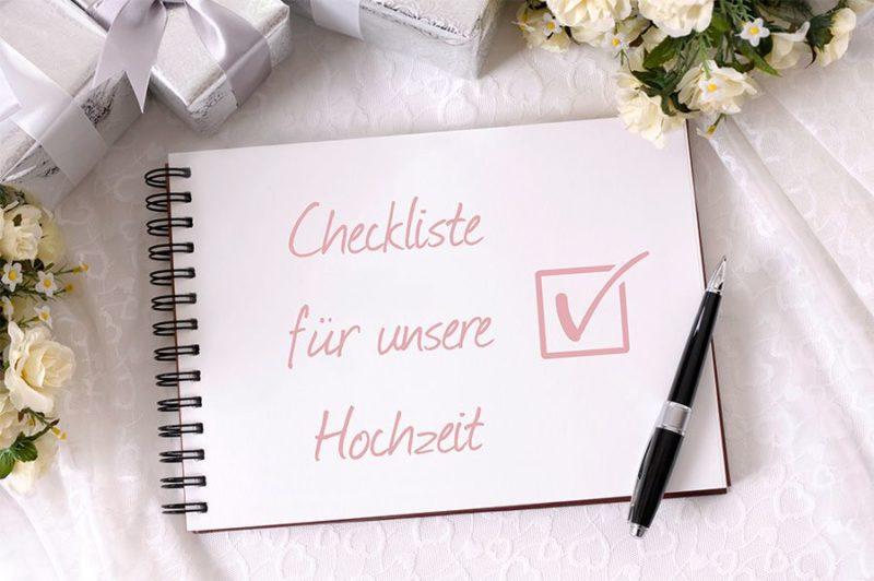 Hochzeit checkliste perfekte organisation
