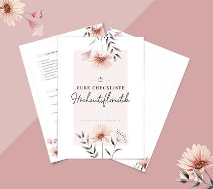 Checkliste für die perfekte Hochzeitsfloristik