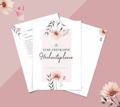 Hochzeitsplaner-Checkliste zum downloaden