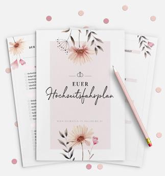 Hol dir unsere Hochzeits-Checkliste als PDF