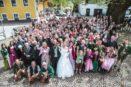 Hochzeitsfeier in Faistenau