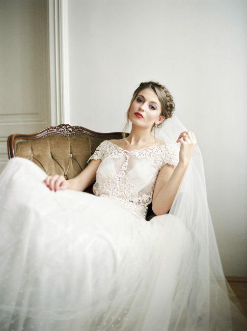 Melanie Nedelko - Lena Hoschek - Hochzeitskleid