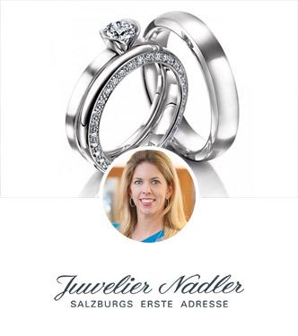 Trauringe von Juwelier Nadler in Salzburg