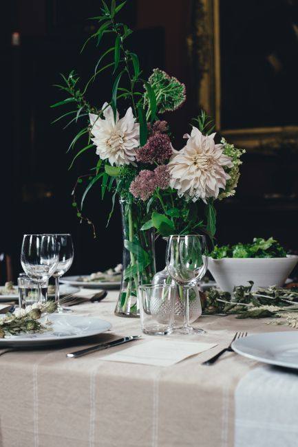 Hochzeitscatering - Tischdekoration