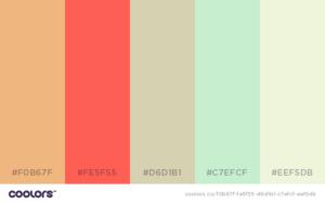 Farb-Palette für die Herbst/Laub Hochzeit
