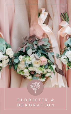 Floristik und Hochzeitsdekoration