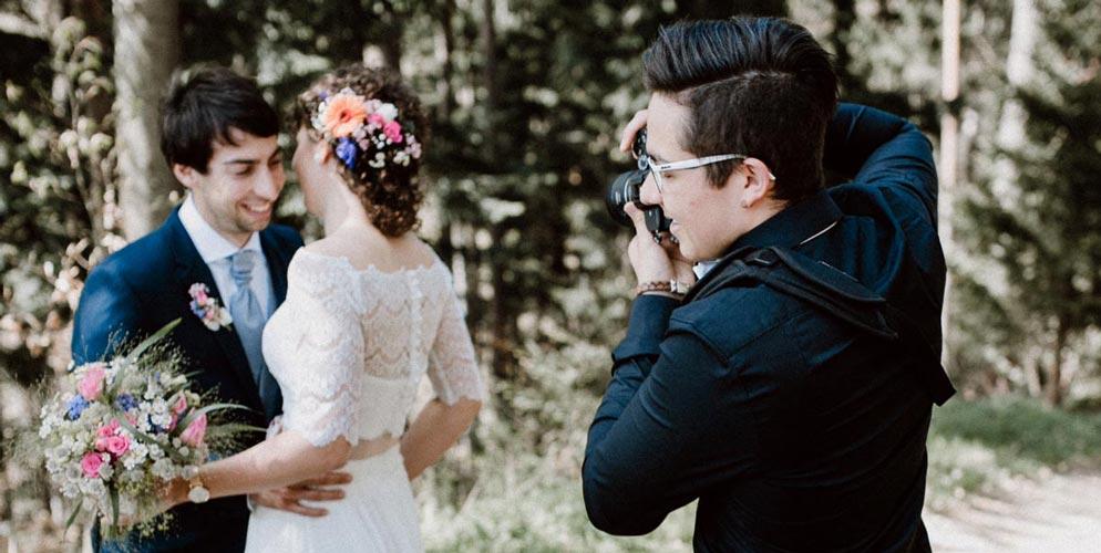 Fotografie-Stil bei der Hochzeit