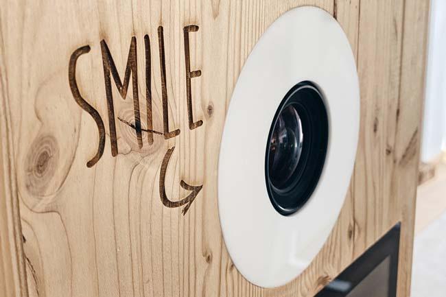 Fotobox für die Hochzeitsfeier mieten - Hapymio