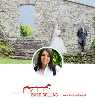 Heiraten auf Burg Golling
