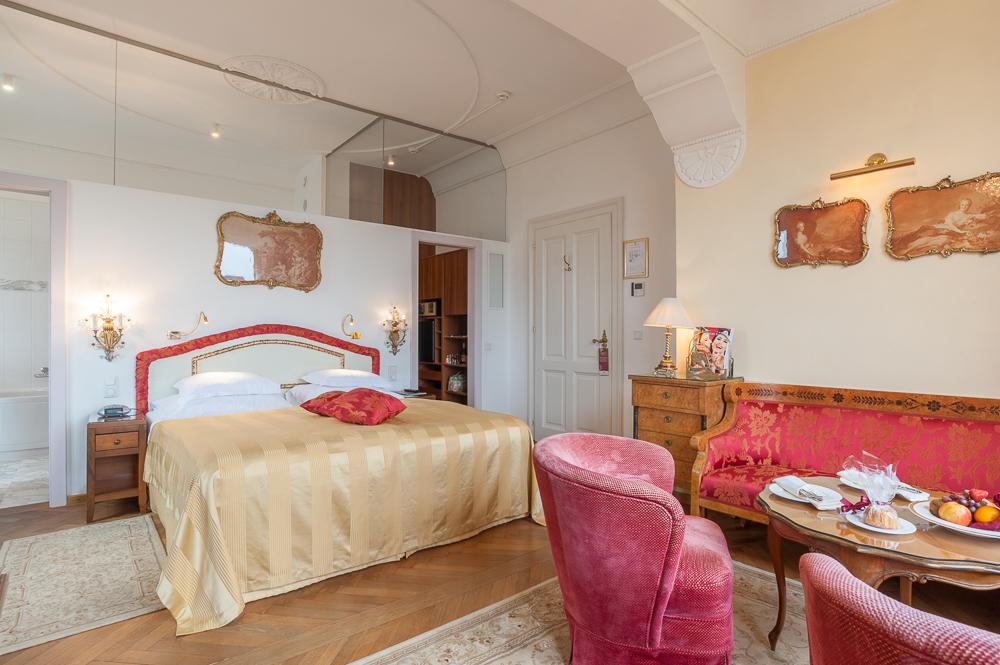 Hotelzimmer Schloss Suite