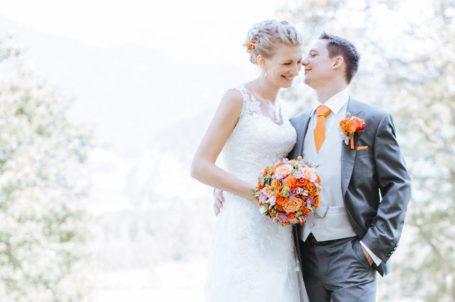Brautpaar Julia und Michi
