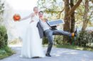 Brautpaar Foto Dankeskarte