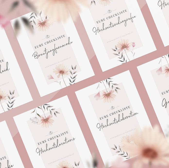 Hochzeits-Checklisten zur Planung eurer Hochzeit
