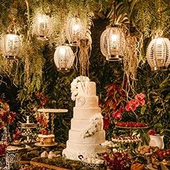 Träumerische Hochzeitsdeko
