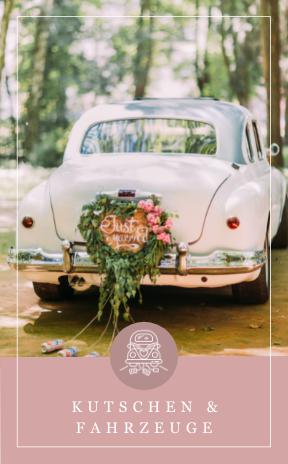 Hochzeitsfiaker und Fahrzeuge für die Hochzeit