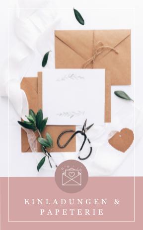 Hochzeitseinladungen und Papeterie