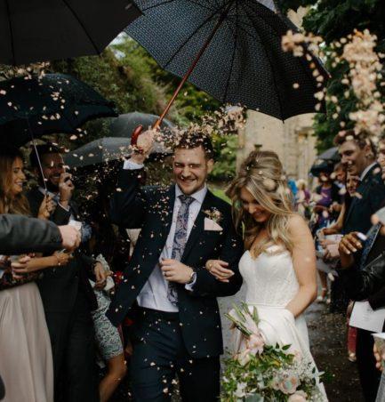 Reis & Konfetti bei der Hochzeit
