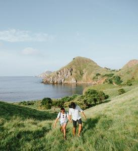 Flitterwochen an der Küste