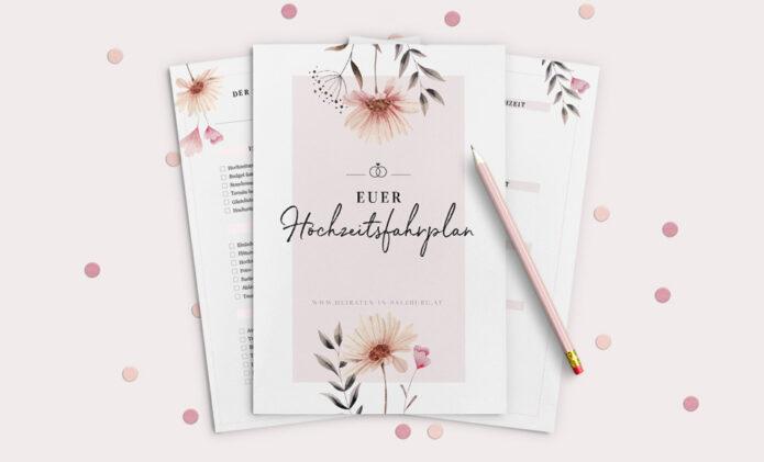 Hochzeitsfahrplan - Die Heiraten in Salzburg Checkliste