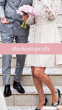 Hochzeitprofis in Stadt & Land Salzburg