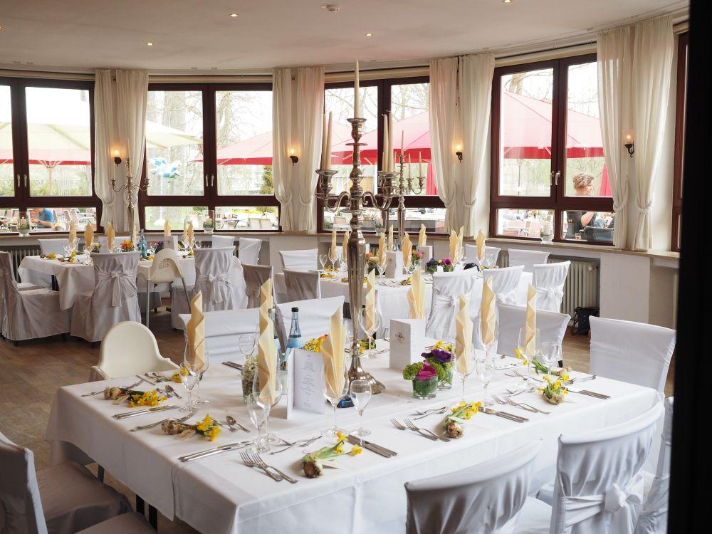 Der Ort der Feier: Der Hochzeitssaal