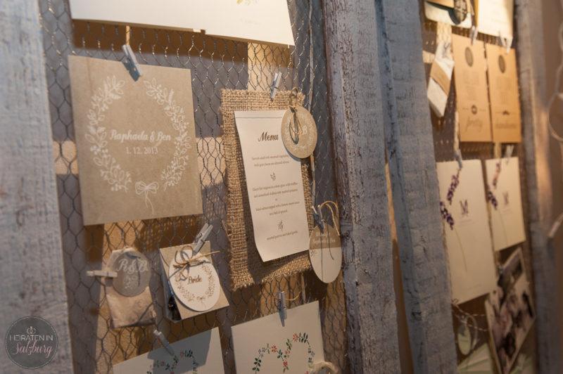 Handgemachte Hochzeitskarten & Einladungen