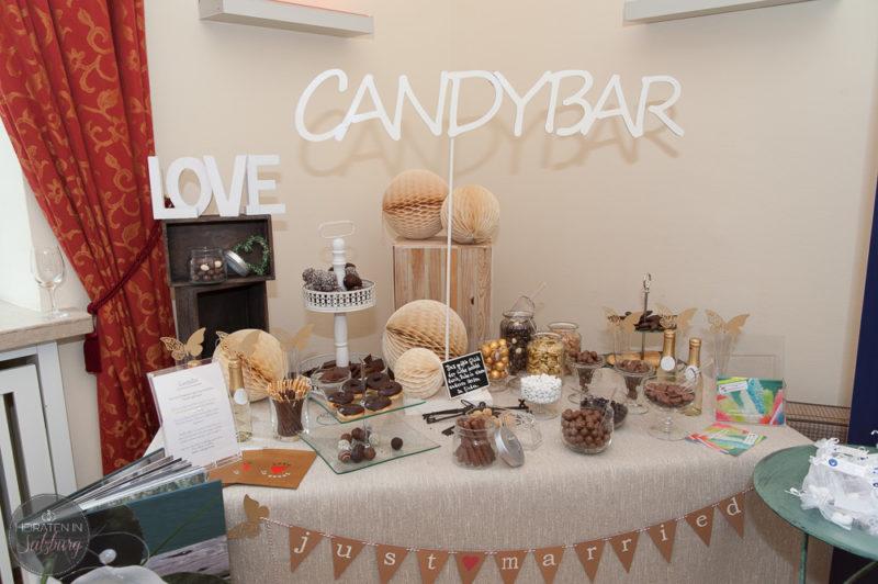 CandyBar - Süße Überraschung für die Hochzeitsgäste
