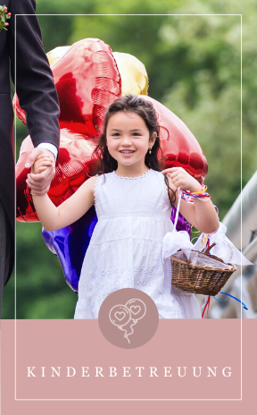 Kinderbetreuung für den Hochzeitstag