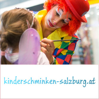 Kinderschminken Katharina - Salzburg