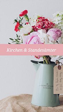 Kirchen & Standesämter in Salzburg