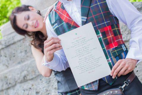 Liebesgedicht zur Hochzeit