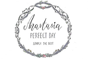 Logo Anastasia Perfect Day - Simply the best