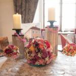 Hochzeitstisch m. Blumendeko