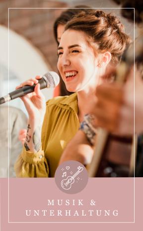 Musik, Bands und Unterhaltung für eure Hochzeit in Salzburg