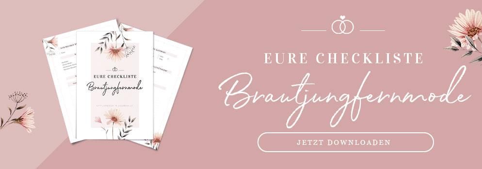 Eure Checkliste für Brautjungfernmode