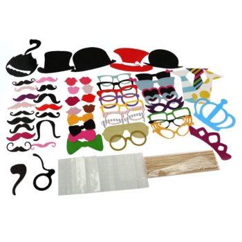 Fotostand Bärte, Hüte, Brillen