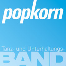 Logo popkorn Hochzeitsband