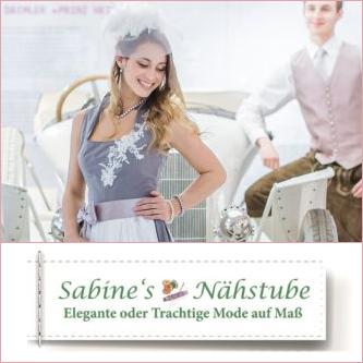 Sabine's Nähstube - Brautmode, Hochzeitskleider, Dirndl
