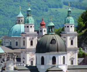 Salzburger Dom in der Altstadt