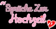 Logo Hochzeitssprüche