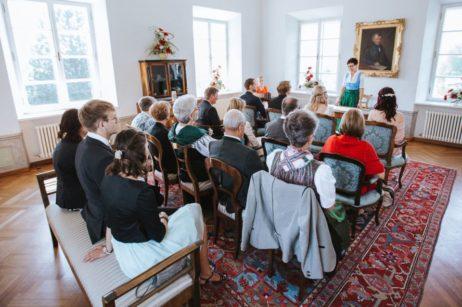 Standesamtliche Hochzeit im Schloss Seeburg Seekirchen