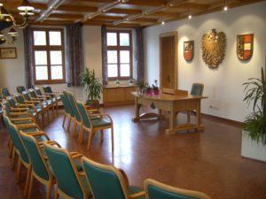 Trauungssaal Rathaus Mittersill