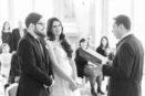 Standesbeamter Trauung Brautpaar