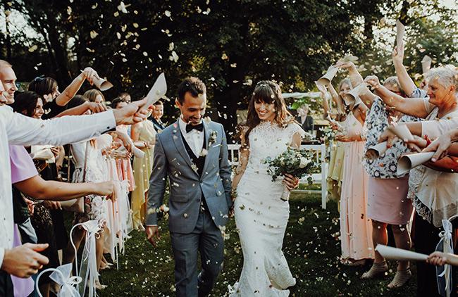 Abendliches Brautpaar-Shooting